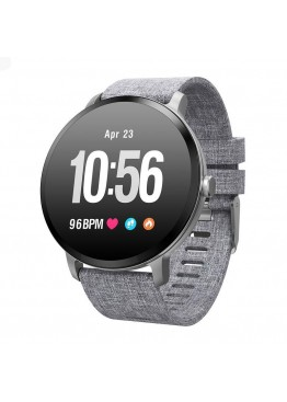 Smart  watch - bracelet V11 grey с тонометром