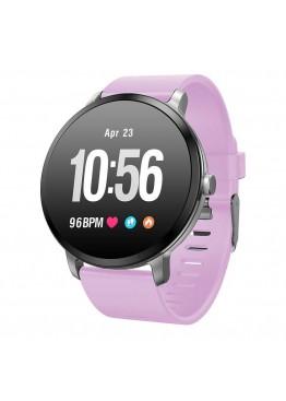Smart  watch-bracelet V11 pink с тонометром