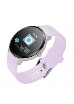 Smart  watch - bracelet V11 pink с тонометром