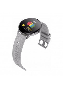 Smart  watch-bracelet V11 grey с тонометром