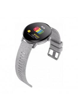 Smart  watch-bracelet V11 grey с тонометром