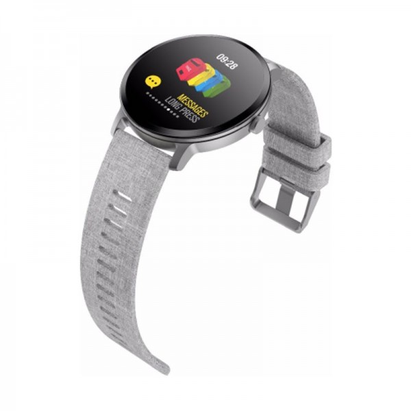 Smart  watch - bracelet V11 grey с тонометром