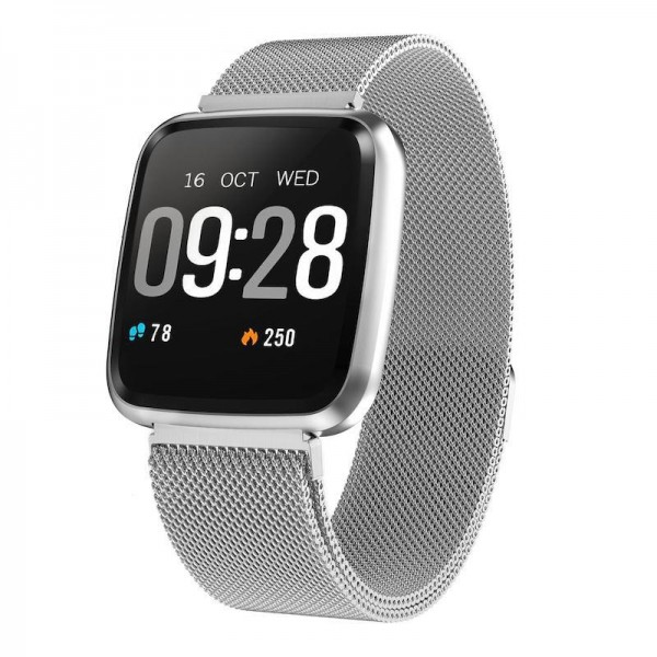 Smart Watch-bracelet Colmi Y7 Silver Pro с тонометром