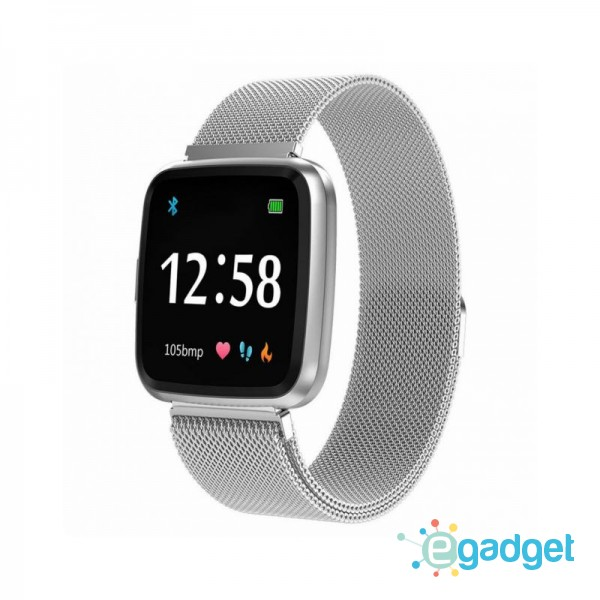 Smart Watch-bracelet Colmi Y7 Silver Pro с тонометром