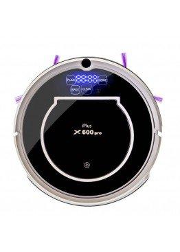 Робот-пылесос iPlus X600 PRO Gold Black by clever PANDA