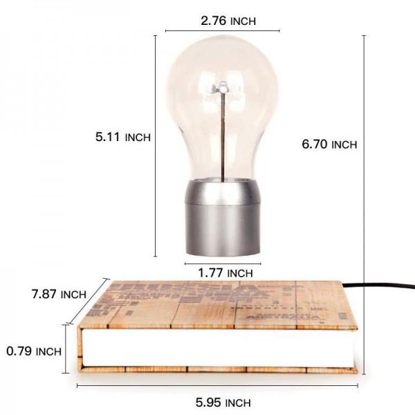 Левитирующая лампочка светильник
