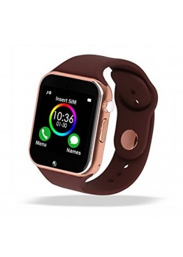 Smart Watch A1 Gold Brown