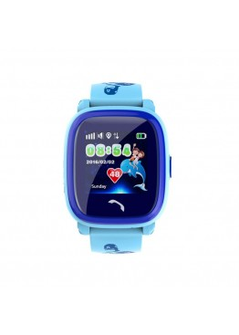 Smart Baby Watch DF25G Blue waterproof