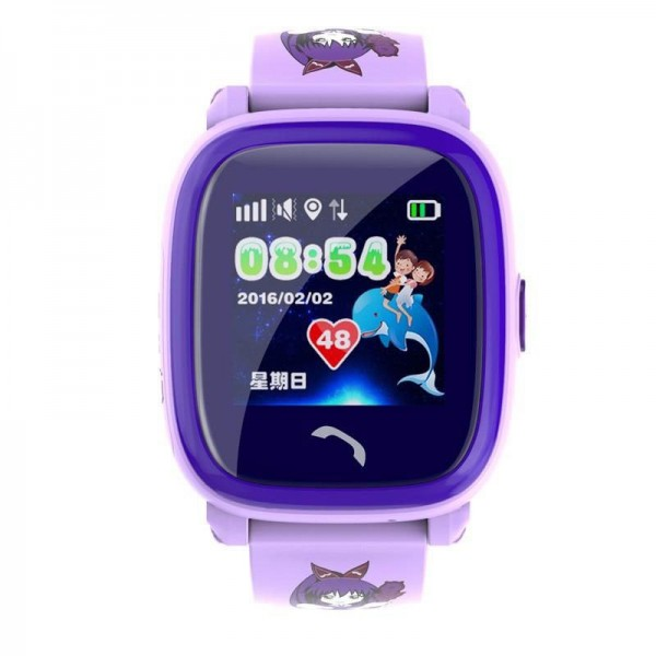 Smart Baby Watch DF25G Perple waterproof