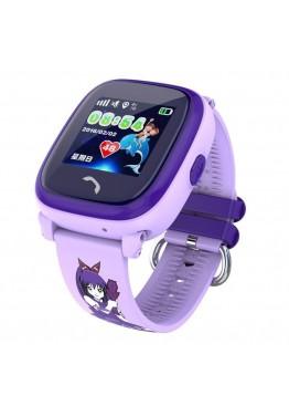 Smart Baby Watch DF25G Purple waterproof