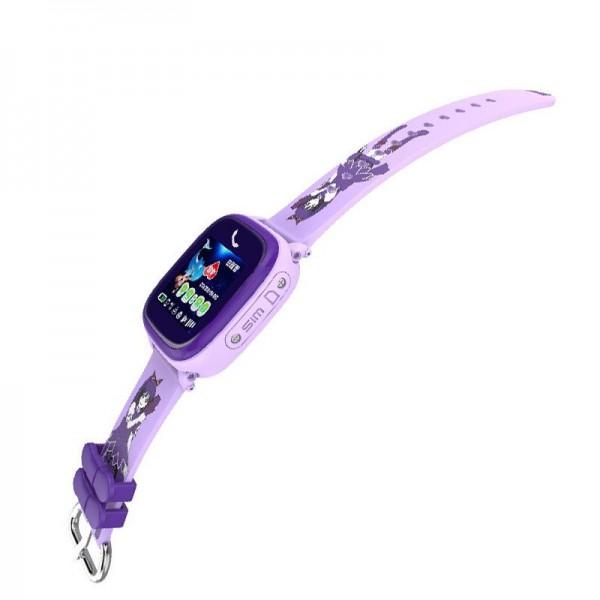 Smart Baby Watch DF25G Perple waterproof