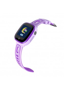 Smart Baby Watch DF31G Purple waterproof