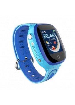 Smart Baby Watch DF31G Blue waterproof