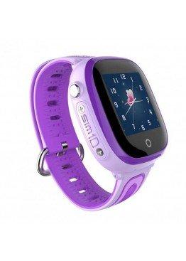Smart Baby Watch DF31G Purple waterproof