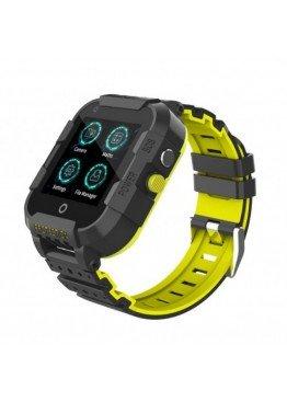 Smart Watch Kids DF39z с видеозвонками и влагозащитой IP67 Black