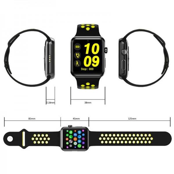 Smart Watch DM09 (LF07) Sport Limited Edition Green