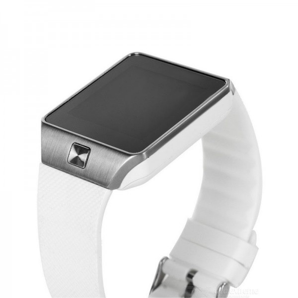 Smart Watch DZ09 Silver/White