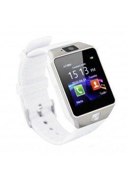 Smart Watch DZ09 Silver/White