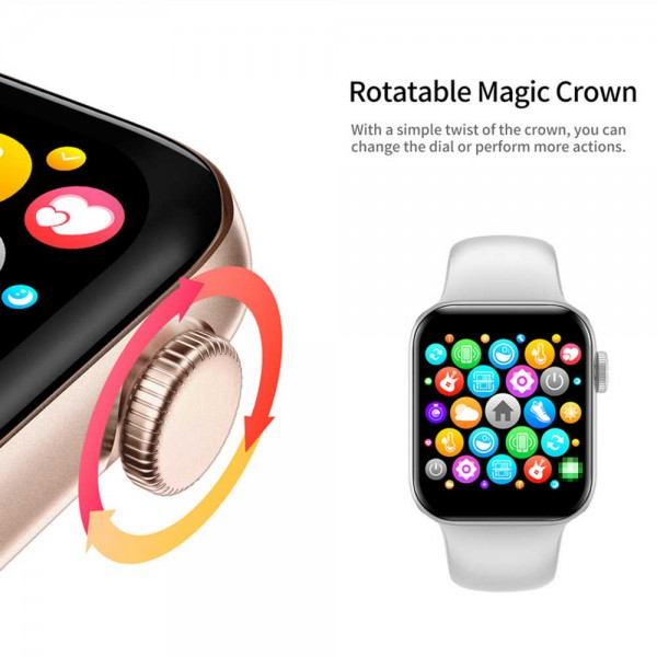 Smart Watch IWO 15 Original Gold