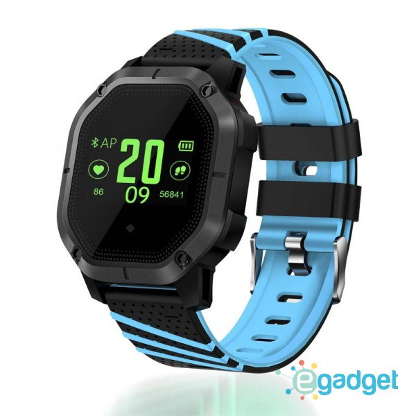 Smart Watch K5 Sport Blue Waterproof IP68