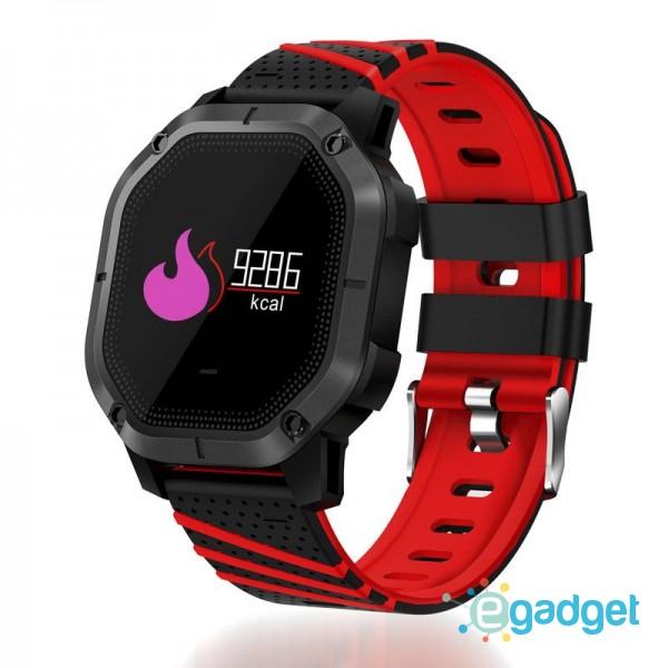Smart Watch K5 Sport Red Waterproof IP68