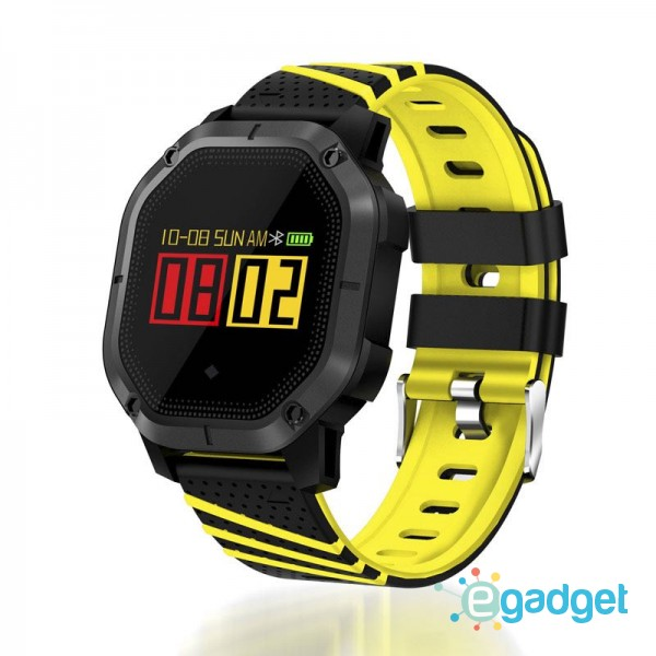 Smart Watch K5 Sport Yellow Waterproof IP68