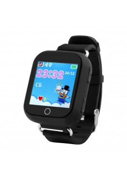 Smart Baby Watch Q100S Black