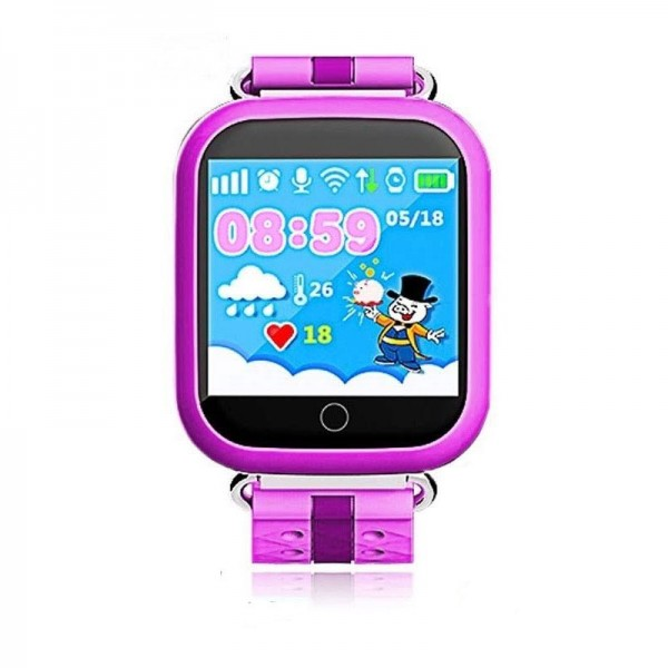 Smart Baby Watch Q100S Pink