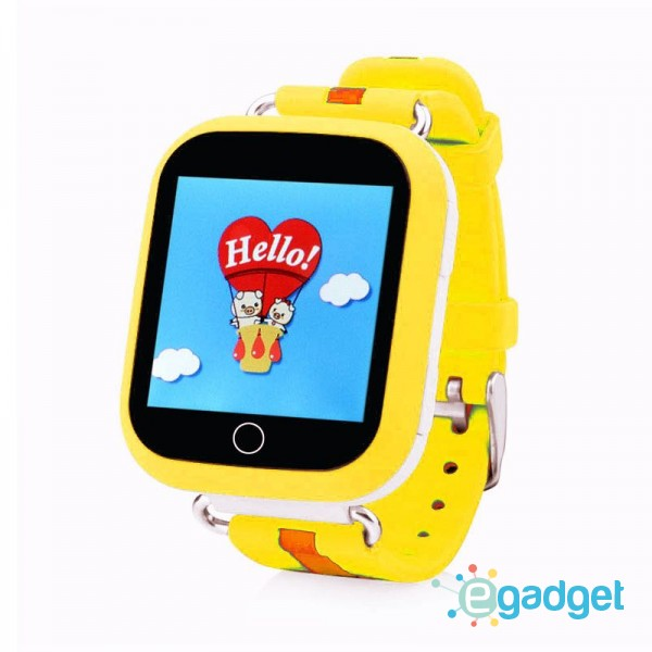 Smart Baby Watch Q100S Yellow