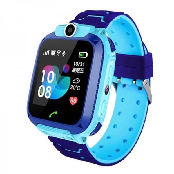 Smart Baby Watch Q12 Blue водонепроницаемые с камерой