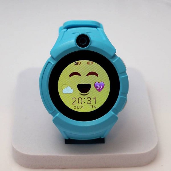Smart Baby Watch Q360 Blue with flashlight