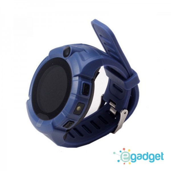 Smart Baby Watch Q360 Dark Blue with flashlight