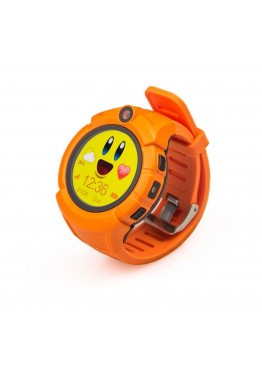 Smart Baby Watch Q360 Orange with flashlight