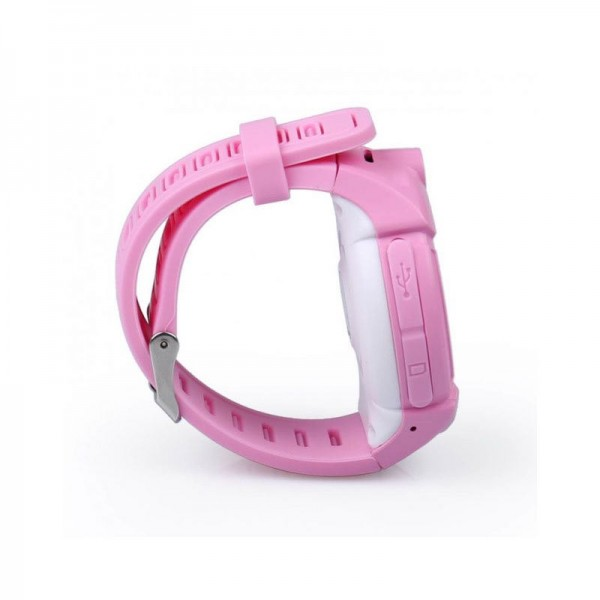 Smart Baby Watch Q360 Pink with flashlight