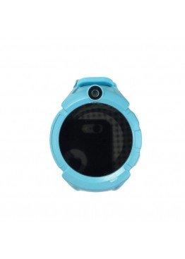 Smart Baby Watch Q360 Blue with flashlight