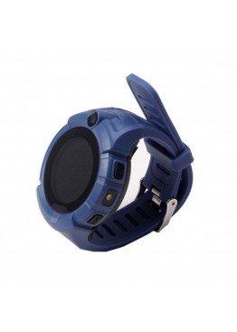 Smart Baby Watch Q360 Dark Blue with flashlight