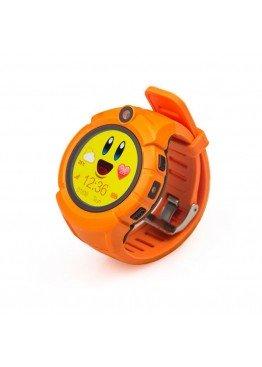 Smart Baby Watch Q360 Orange with flashlight