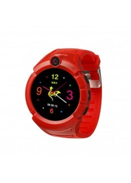Smart Baby Watch Q360 Red with flashlight