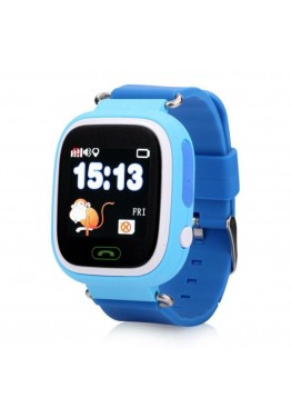 Smart Baby Watch Q90 (Q100) Blue