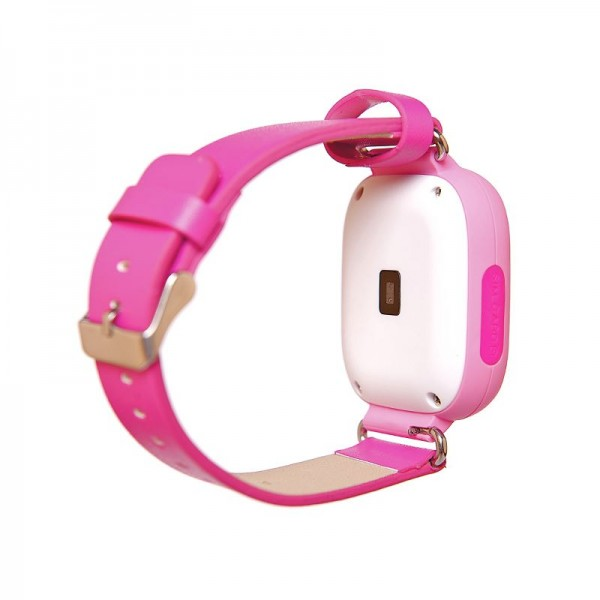 Smart Baby Watch Q90 (Q100) Pink