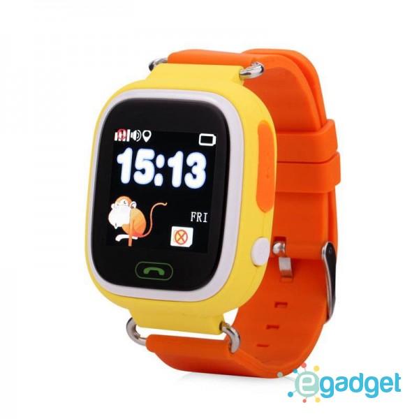 Smart Baby Watch Q90 (Q100) Yellow