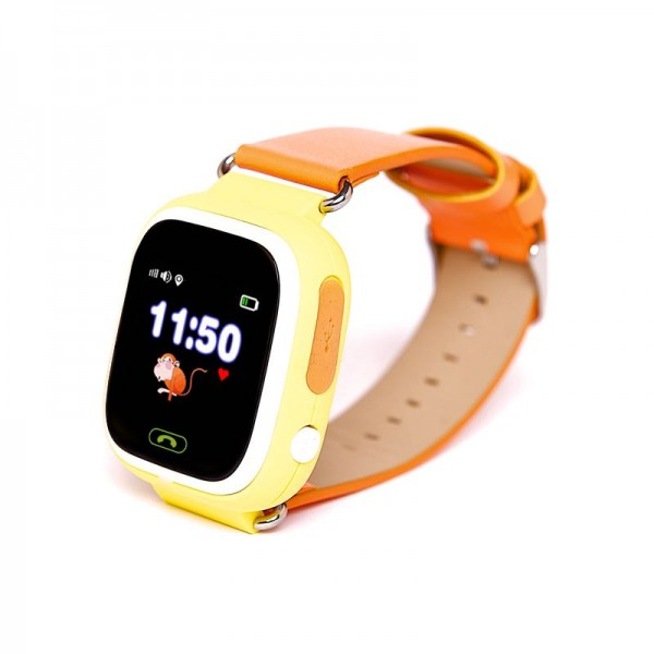 Smart Baby Watch Q90 (Q100) Yellow