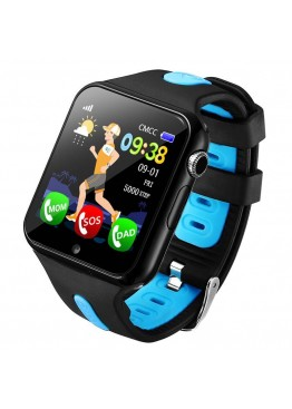 Smart Baby Watch V5K Blue