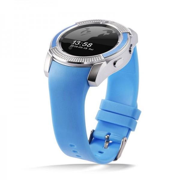 Smart Watch V8 Blue