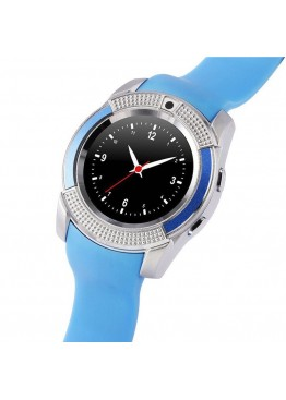 Smart Watch V8 Blue