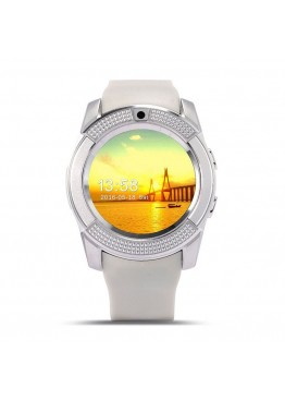 Smart Watch V8 White