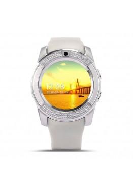 Smart Watch V8 White
