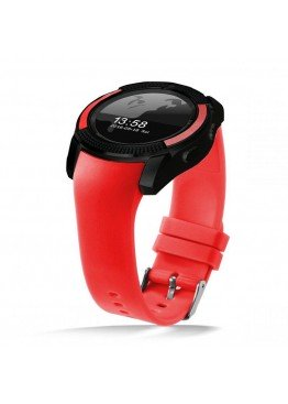 Smart Watch V8 Red
