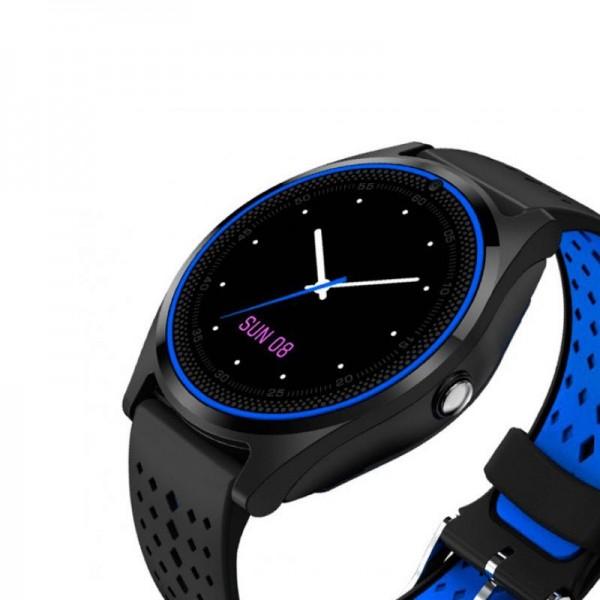 Smart Watch V9 Black Blue
