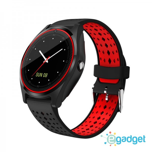 Smart Watch V9 Black Red